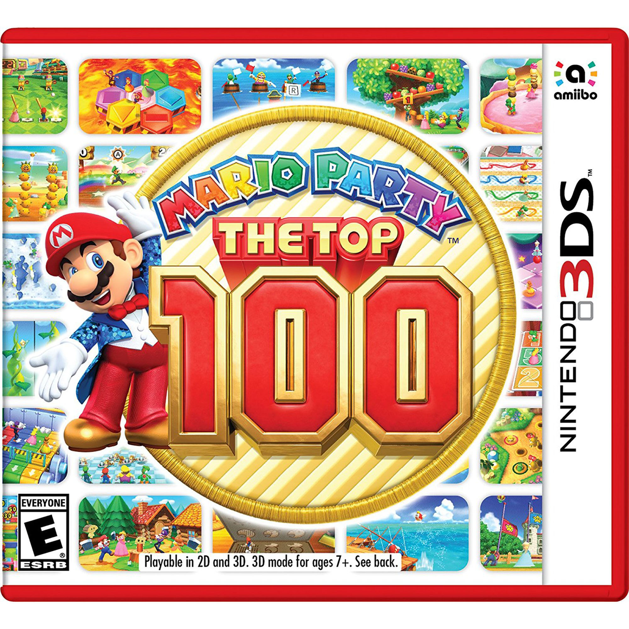 Mario Party The Top 100 3DS, Nintendo, Nintendo 3DS, [Digital Download], 045496744861