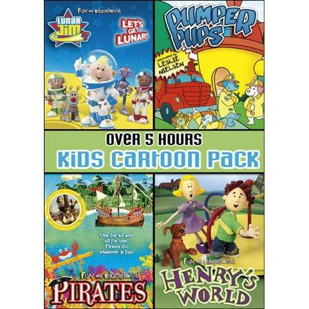 A Cartoon Rat (Kids Cartoon Pack Collector's)