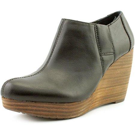 86157f54241 Dr. Scholl s Shoes - Dr. Scholl s Harlie Women Round Toe Synthetic Black  Bootie - Walmart.com