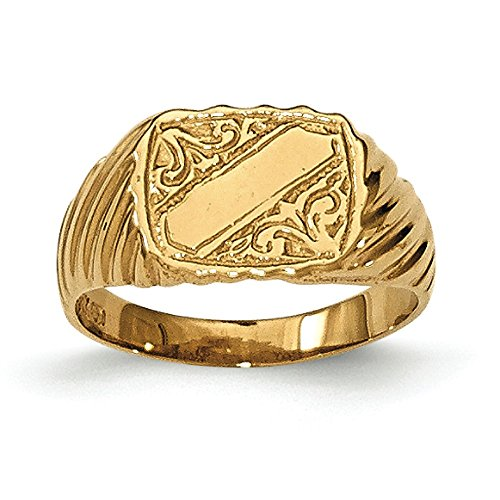 Baby and Children 14K Yellow Gold Signet Ring