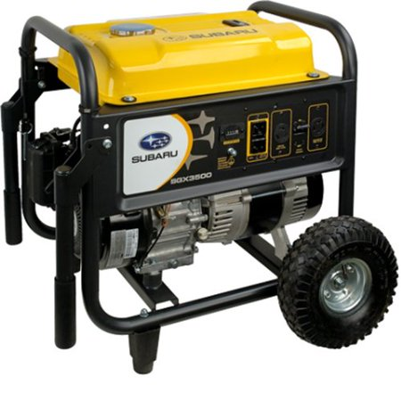 Subaru Sgx3500 7 0 Hp Gas Powered Commercial Generator  3500W