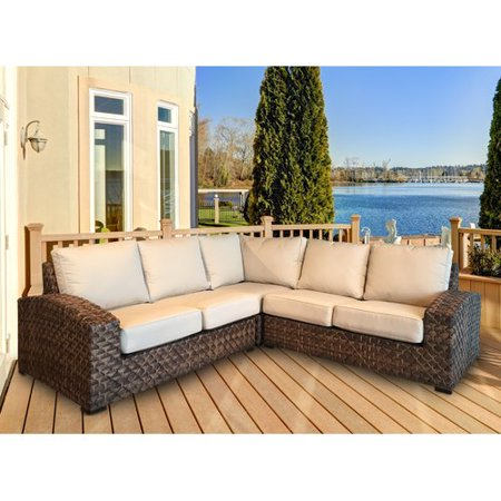 Bayou Breeze Lankford Patio Sectional with Cushions