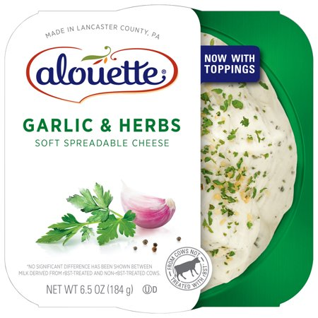 Image of Alouette ® Garlic & Herbs Soft Spreadable Cheese 6.5 oz.