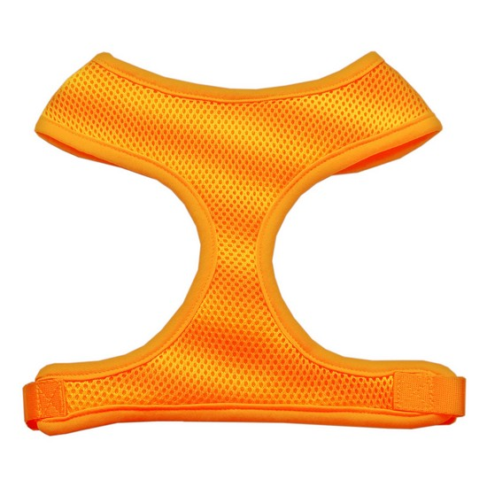 Mirage 70-24 MDOR Soft Mesh Dog Harness Orange Medium