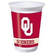 Oklahoma Sooners Cups, 8-Pack