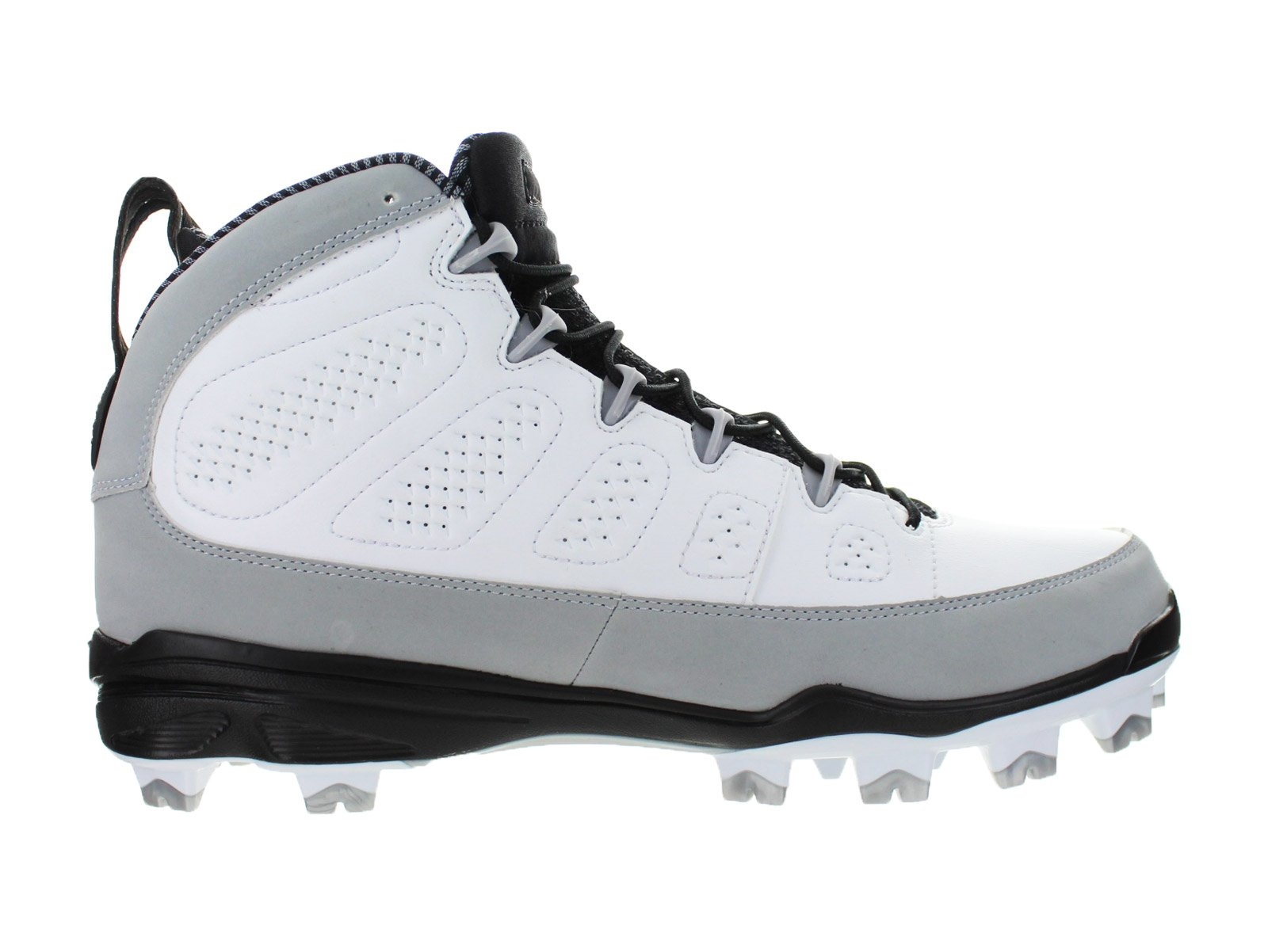 new product bbe49 1f656 ... france air jordan mens air jordan 9 ix retro mcs re2pect baseball  cleats white wolf grey