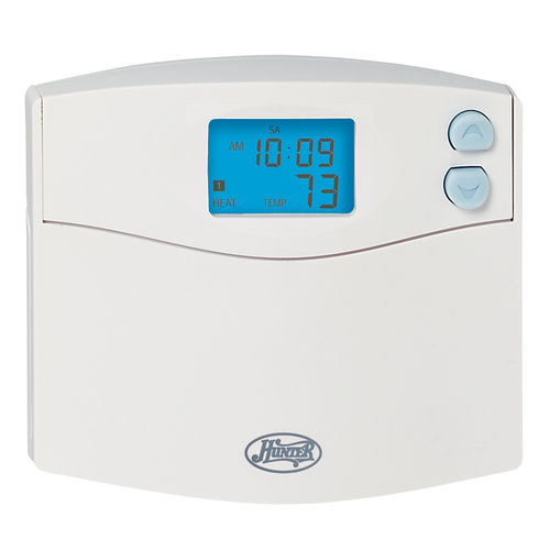 hunter fans 5 2 day programmable thermostat with indiglo walmart com rh walmart com hunter thermostat 44860 manual hunter thermostat 44760 troubleshooting