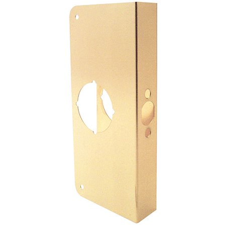 Prime Line Products U9548 Brass Door Guard 9 x 2 3 8 x 1 3 4