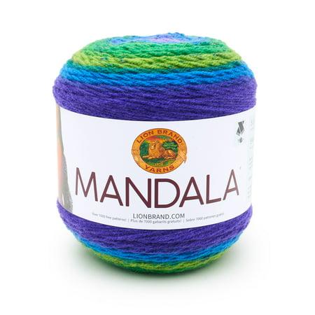 Lion Brand Mandala Peacock Fashion Cake Yarn, 1 Each](Mandala Crafts)