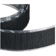 VELCRO BRAND Reclosable Fastener Strap,Roll,Black 120159