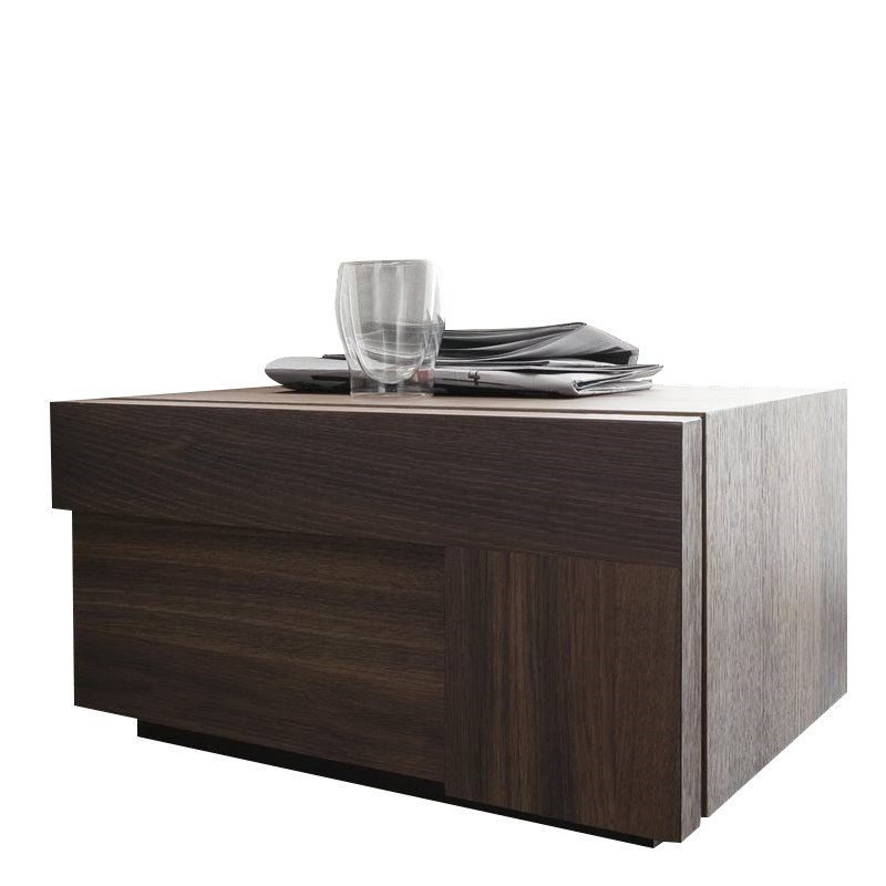 Rossetto Air Right 1 Drawer Night Stand in Warm Oak by Rossetto