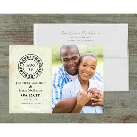 Destination Wedding Deluxe Save the Date - Save The Date Destination Wedding