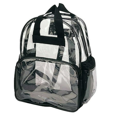 Clear Backpack, Camping Hiking Daypacks, NFL Sports Events Approved Backpack, Music Events Backpack, Custom Clear CBP Backpack Transparent Backpacks (Clear - 14