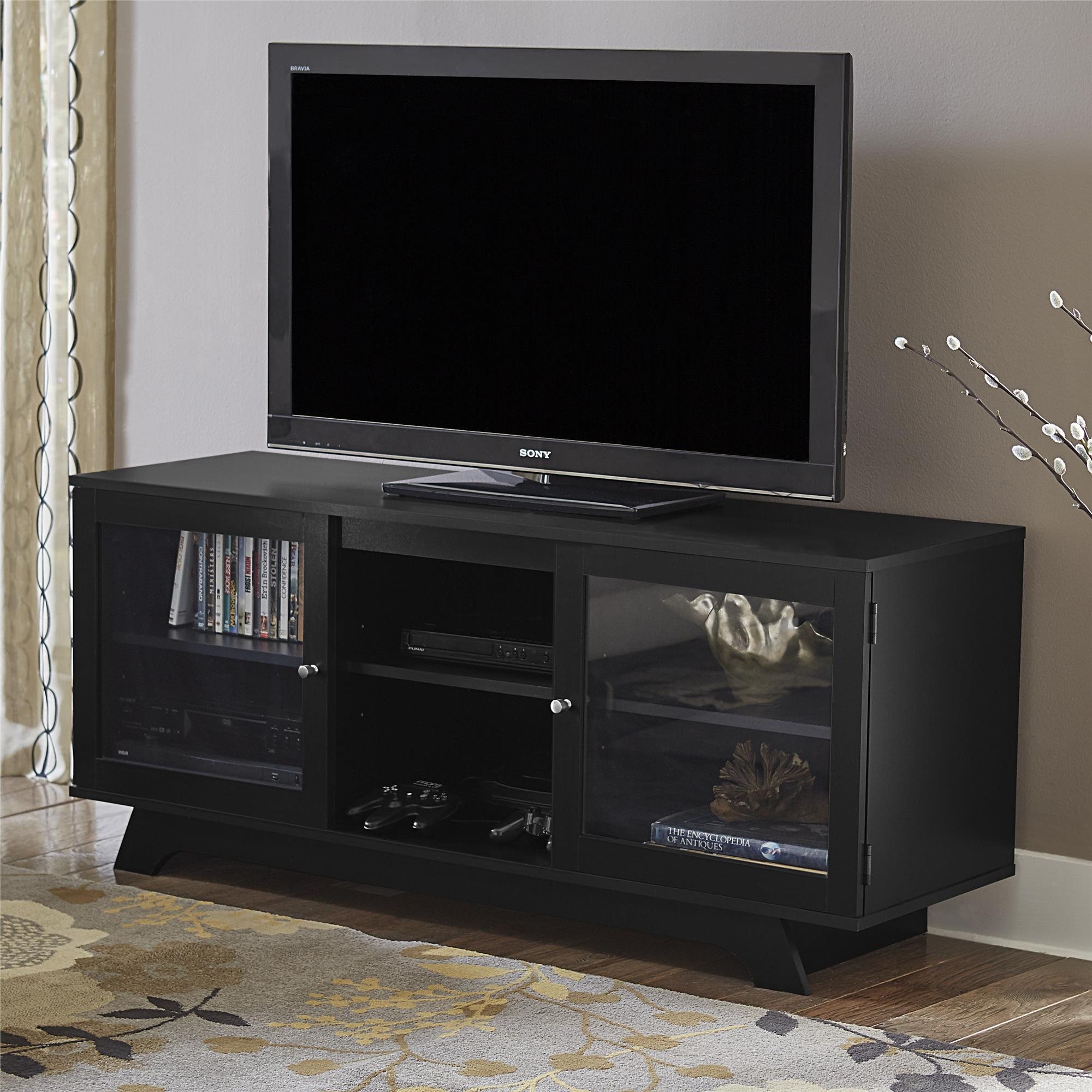 "Ameriwood Home Englewood TV Stand for TVs up to 55"", Black"