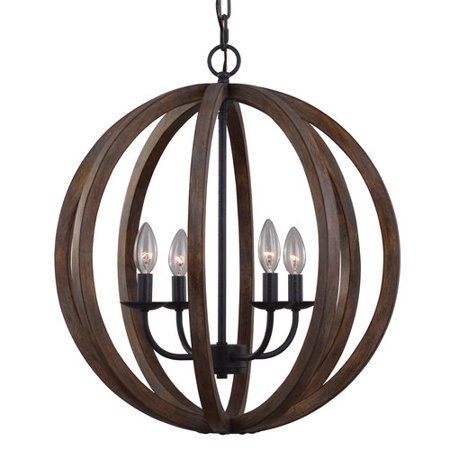 High Country Foyer Chandelier - Murray Feiss F2935/4 Allier 4 Light Large Foyer Chandelier