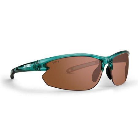 730fc6d746 Epoch Eyewear - New Epoch Eyewear 10 Golf Sport Unisex Style Teal Framed  Amber Lens Sunglasses - Walmart.com