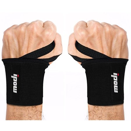 IPOW Adjustable 18.5 inches Wrist Wrap Brace Breathable Support Protection Recovery for Arthritis Tendonitis Sprains, Weightlifting Crossfit Bodybuilding, 2pcs, Cyber Monday / Green Monday