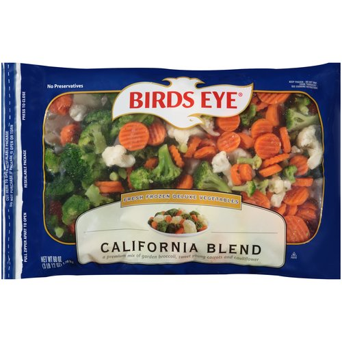 Birds Eye California Blend, 60 oz