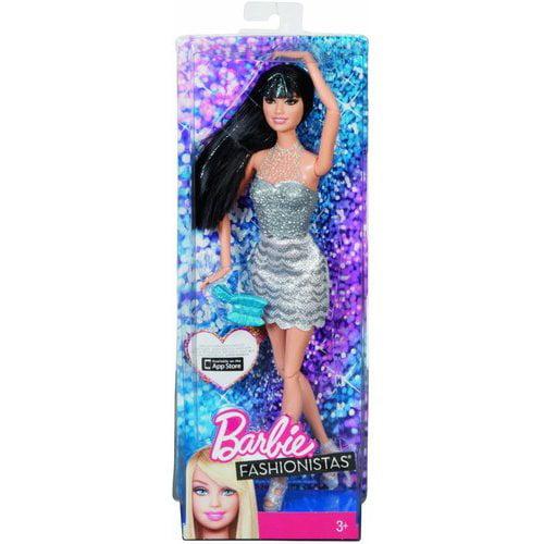 Barbie Fashionistas Doll, Black Hair