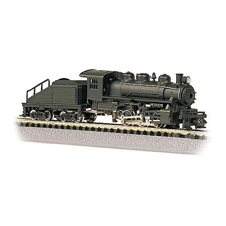 Bachmann Industries USRA 0-6-0 Switcher and Tender - Painted, Unlettered N Scale