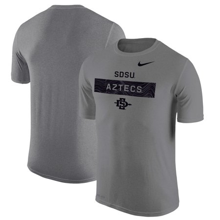 San Diego State Aztecs Nike 2018 Sideline Legend Lift Performance T-Shirt - Charcoal