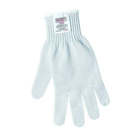 9350M Steelcore II Regular Weight 7-Guage Reversible Cut Resistant Gloves, White, Medium, This regular weight 7-guage reversible gloves provide ultimate.., By MCR Safety