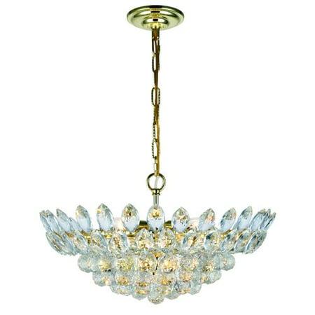Rosdorf Park Glendora 10-Light LED Crystal Chandelier