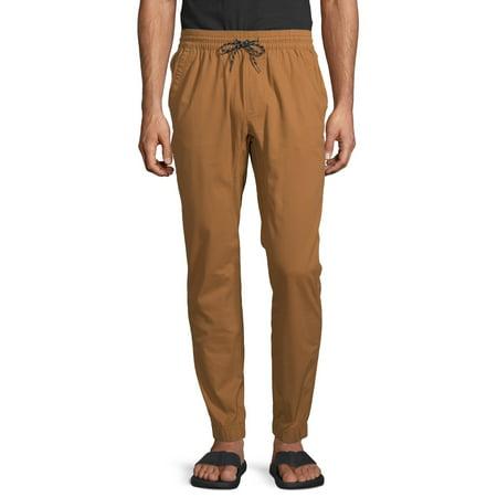 No Boundaries Men's Twill Jogger Pants ()