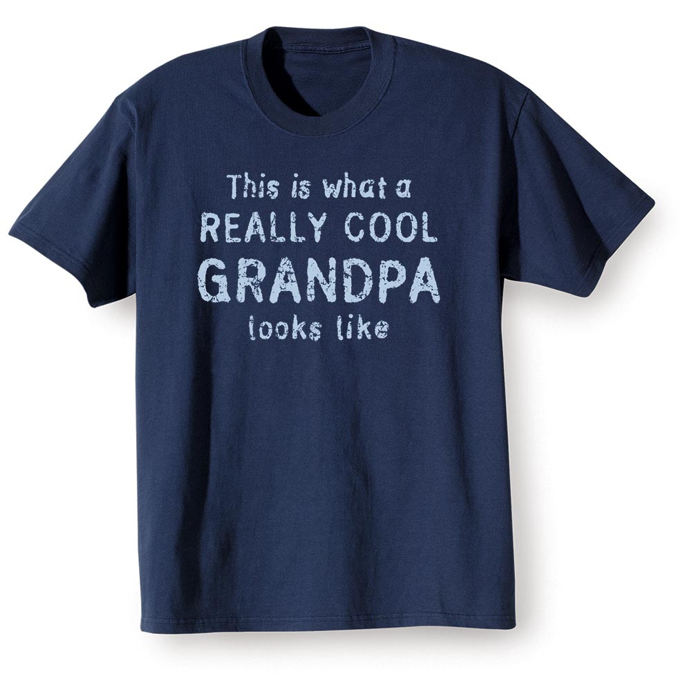 Unisex-Adult Really Cool Grandpa T-Shirt