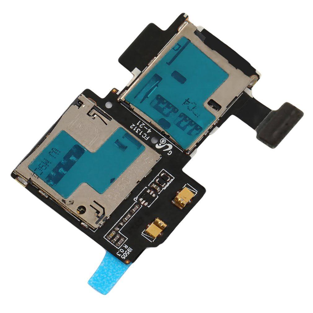 45Pcs OEM New TF+SIM Card Tray Holder Slot Flex For Samsu...