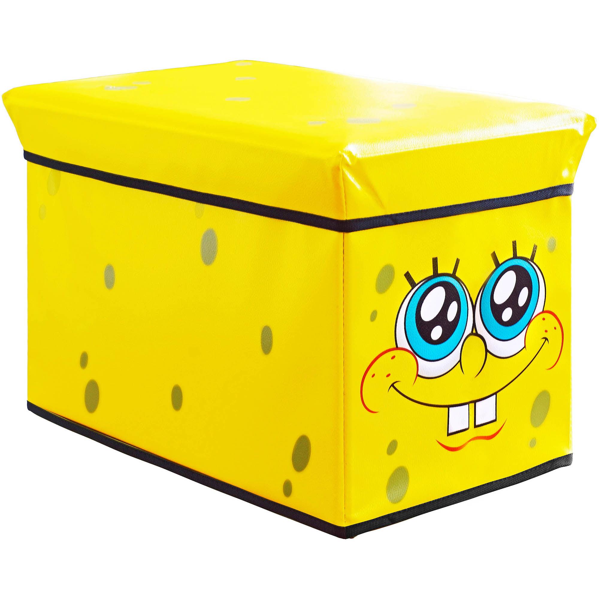 SpongeBob SquarePants Kidsu0027 Storage Ottoman   Walmart.com