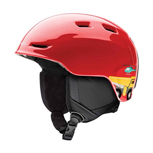 Smith Optics Zoom Jr Ski Snow Helmet (Fire Transportation Youth Small) by Smith Optics