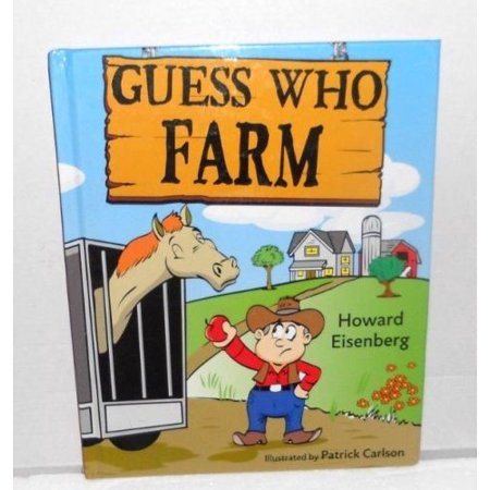Guess Who Farm (Hardcover) NEW Fun That Educates! Interactive Poems Rhymes