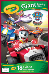 Crayola Paw Patrol Ready Race Rescue Giant Coloring Pages - Walmart.com -  Walmart.com