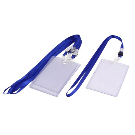 - Bargains Blue Pcs Unique Stationery Walmart Office Plastic Neck Strap Holder School Card com Name Bank 4 Id Lanyard W Students