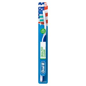Oral-B Healthy Clean Toothbrush, Soft Bristles, 1 Count