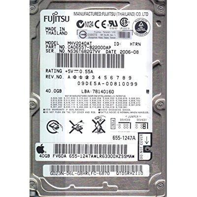 Fujitsu MHV2040AT 40GB UDMA/100 4200RPM 2MB 2.5-Inch Note...