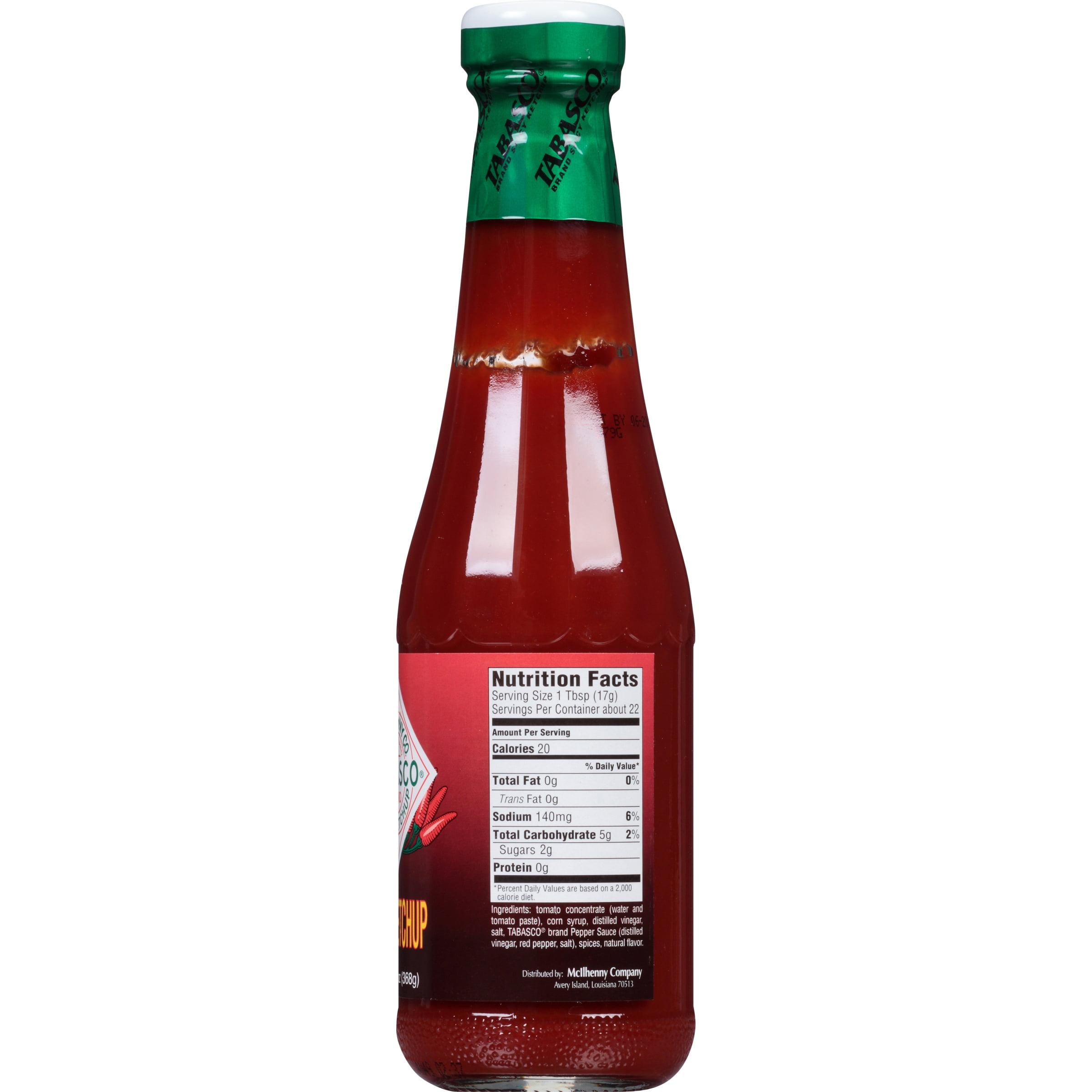 McIlhenny Co. Tabasco® Brand Spicy Ketchup 13 oz. Bottle - Walmart.com