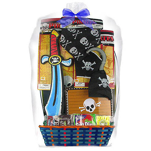 Pirate Easter Basket, 7 pc