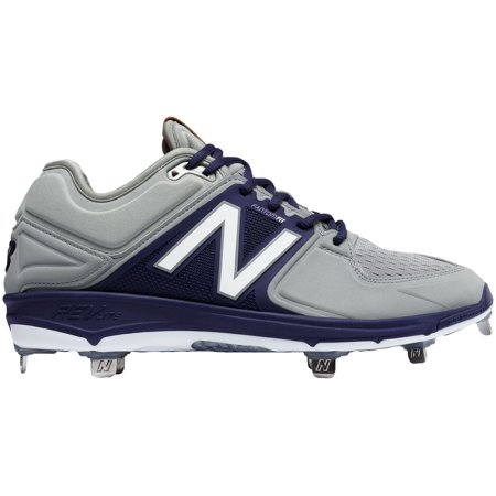 d5d009829a6 New Balance Men s 3000 V3 Metal Baseball Cleats (Grey Navy