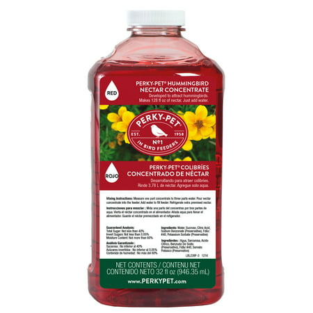 Perky-Pet 32 oz Red Hummingbird Nectar Concentrate ()