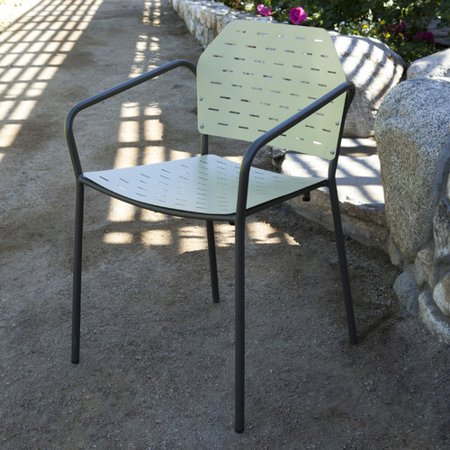 Les Jardins Fling Stacking Patio Dining Chair - Les Jardins Fling Stacking Patio Dining Chair - Walmart.com