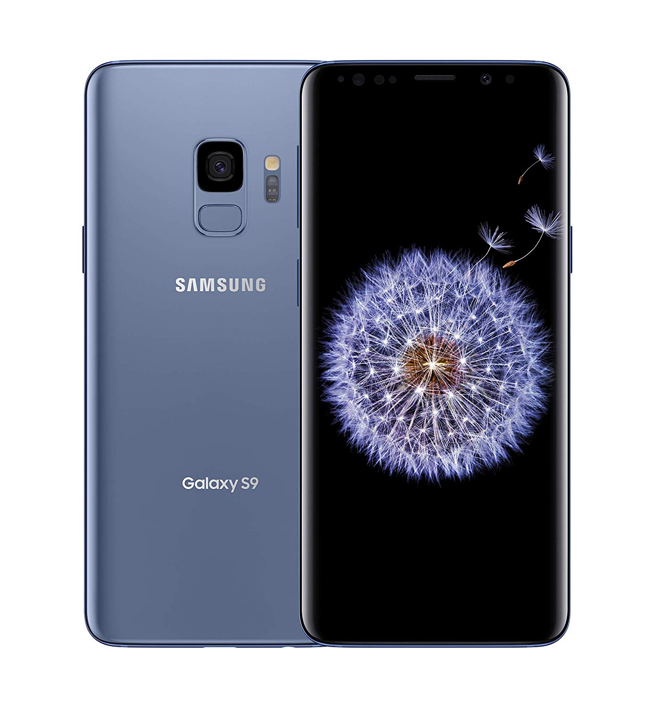 Certified Pre-Owned Galaxy S9 Samsung SM-G960U 64GB AT&T GSM Unlocked Smartphone - Midnight Black