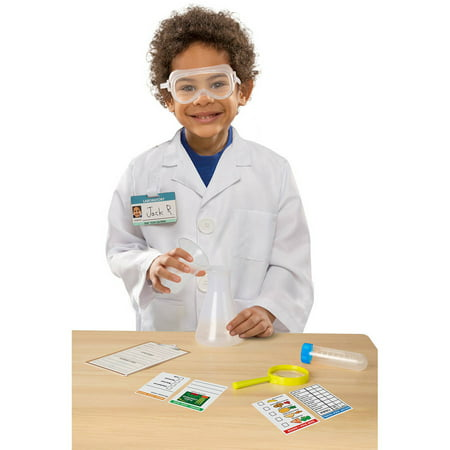 Melissa & Doug Scientist Role Play - Baby Scientist Costume
