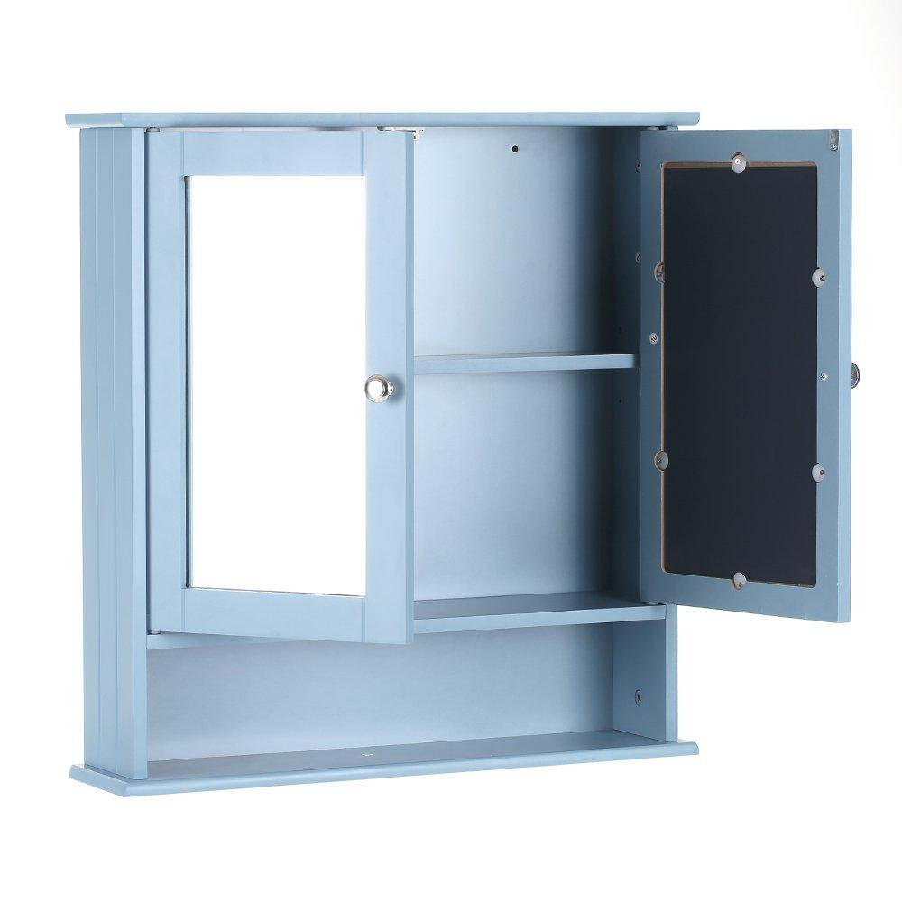 Great Glass Door Wall Cabinet Interior