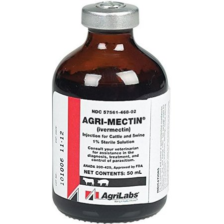 Generic Ivermectin Injection - 50 ml (Ivermectin Dose For Dogs For Heartworm Prevention)
