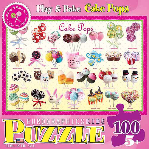 Sweet Cake Pops 100 Piece Puzzle