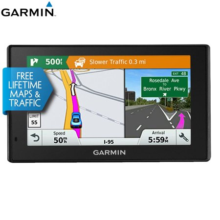 Garmin 010-01539-01 DriveSmart 50LMT GPS Navigator - (Certified Refurbished) (Refurbished Handheld Gps)