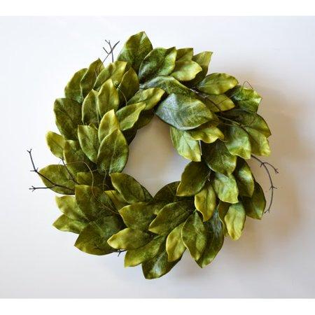 - Gracie Oaks Magnolia 24'' Wreath