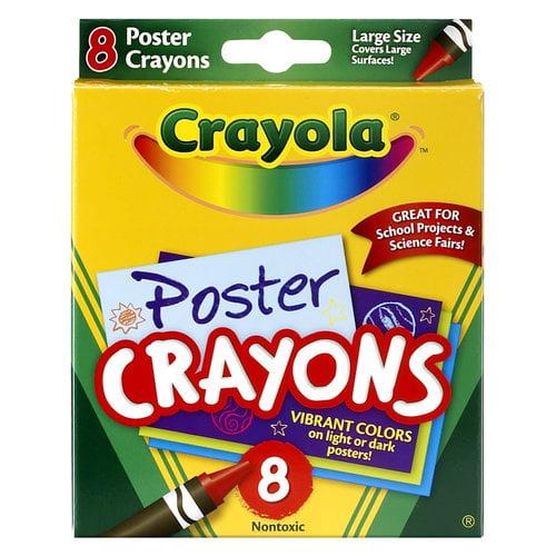 Crayola 8ct Poster Crayons